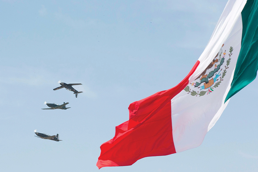 Fuerza Aérea Mexicana celebra 101 aniversario