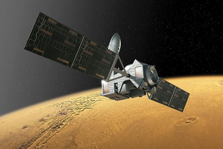 Cohete Porton-M inicia misión a marte
