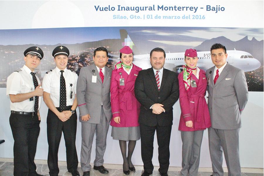 Nueva ruta Monterrey-Bajío de Volaris