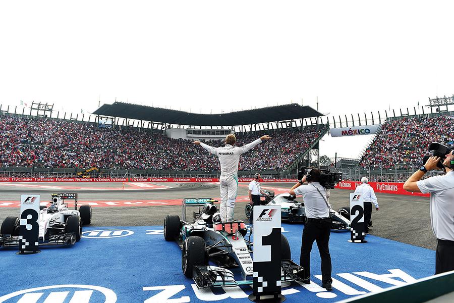 CIE invertirá 600 mdp para la F1