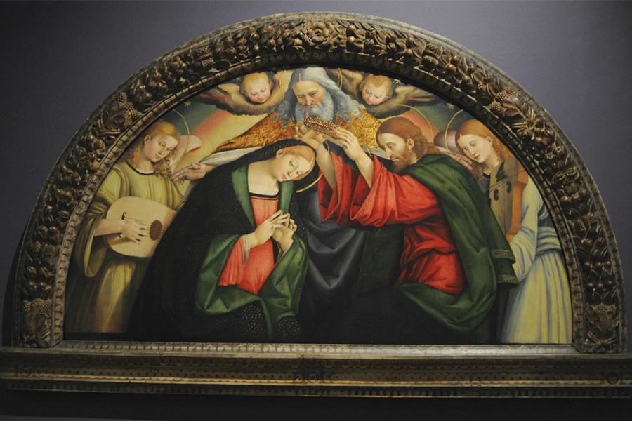jet news el arte de la musica la coronacion de la virgen de luca signorelli