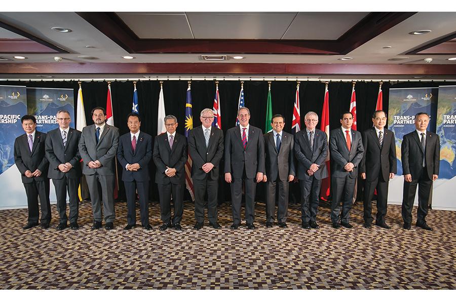 Firma del Tratado de Asociación Transpacífico