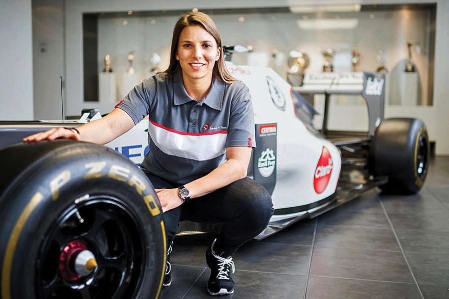 Simona de Silvestro primera mujer en competir en la Fórmula E