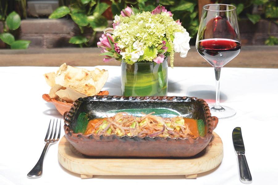 C cero restaurante de alta cocina mexicana jet news for Alta cocina mexicana