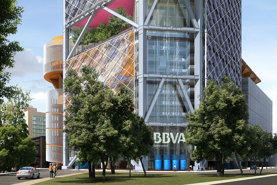 Nuevo edificio de BBVA Bancomer