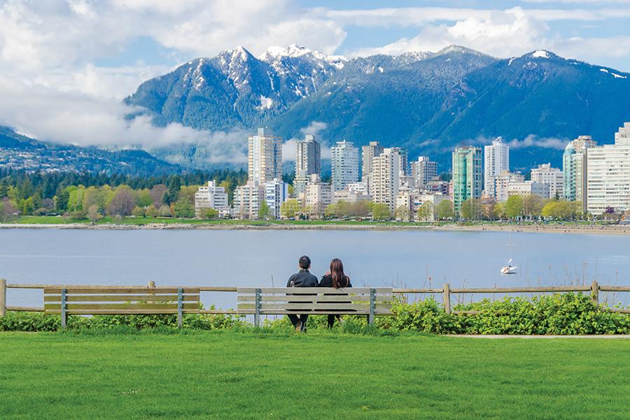 Vancouver la ciudad más cálida de Canadá