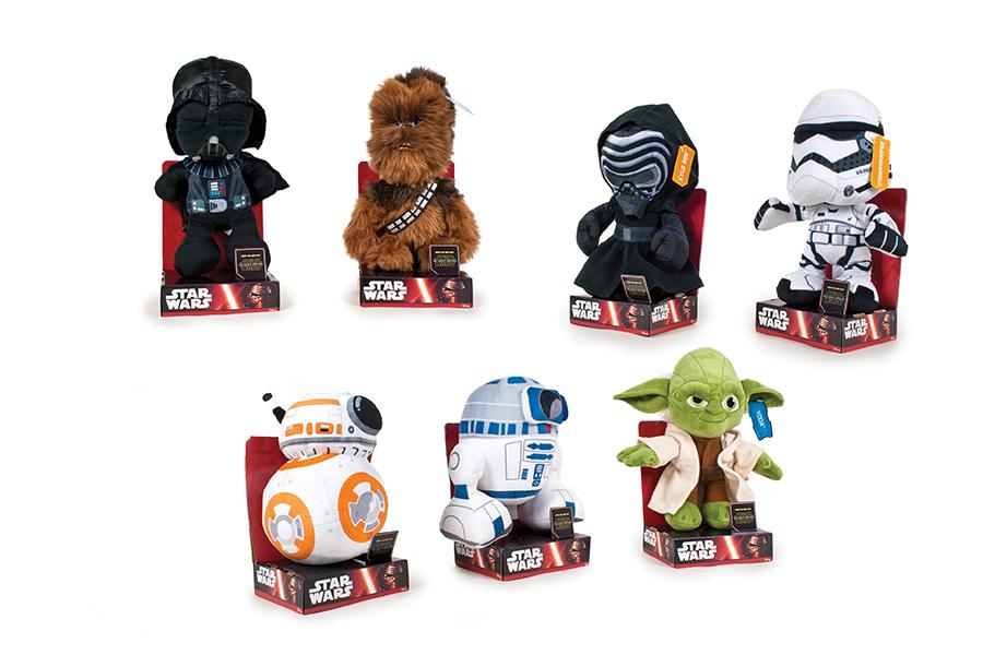Muñecos de peluche Star Wars