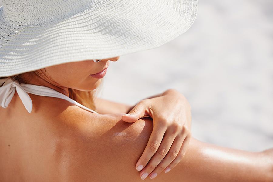 Protege tu piel de los rayos del sol