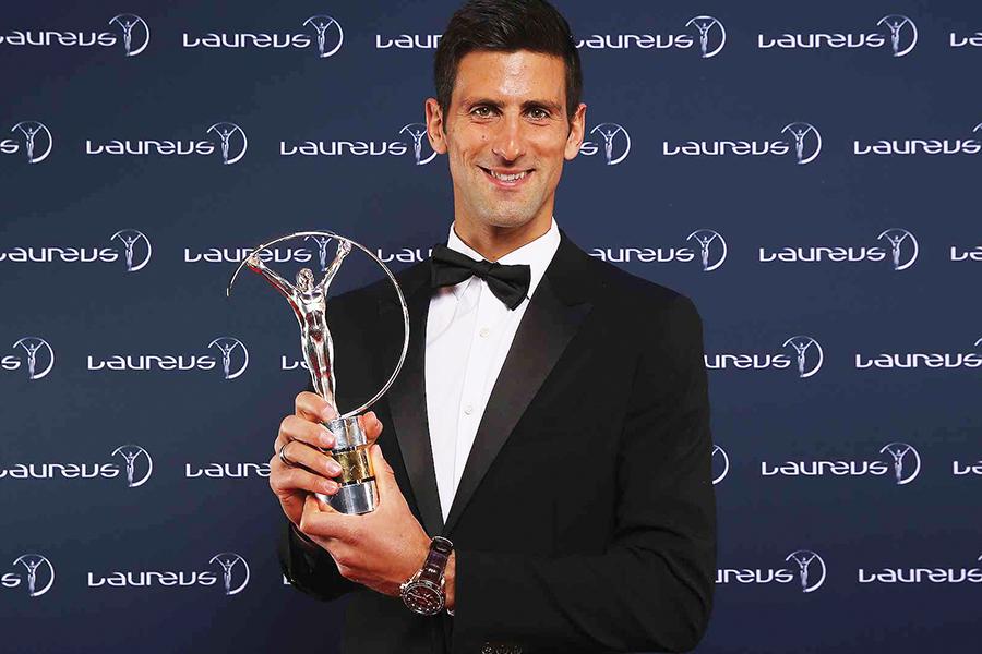 Djokovic, deportista del año 2016