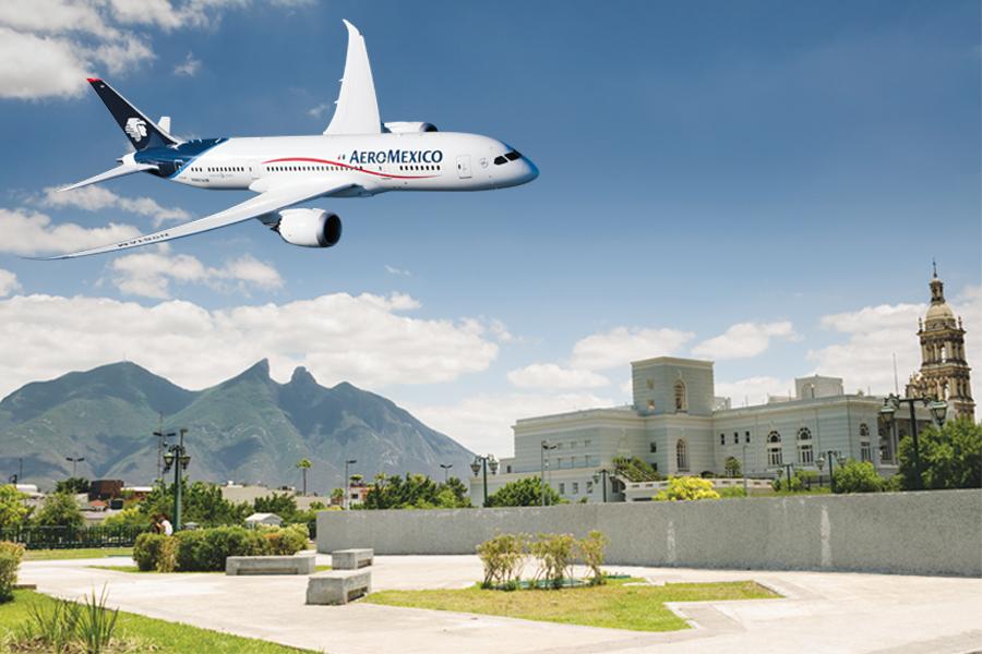 Aeroméxico presenta más frecuencias nacionales