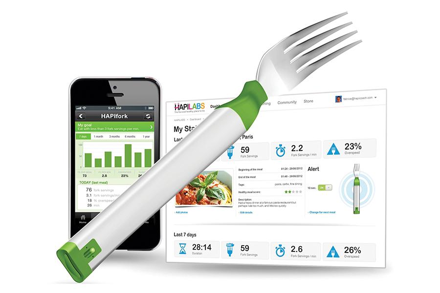 Hapifork, tenedor que mide calorías