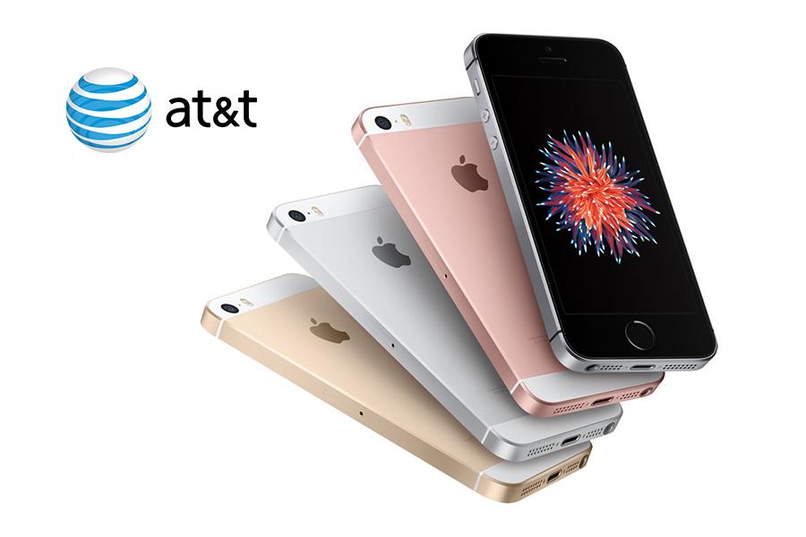 iPhone SE ya disponible con AT&T