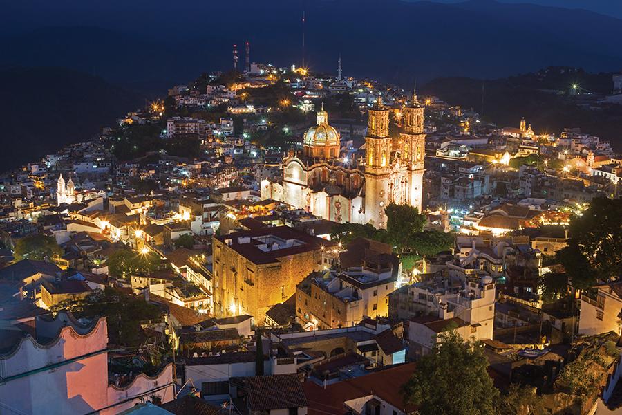 Taxco, pequeña y encantadora ciudad