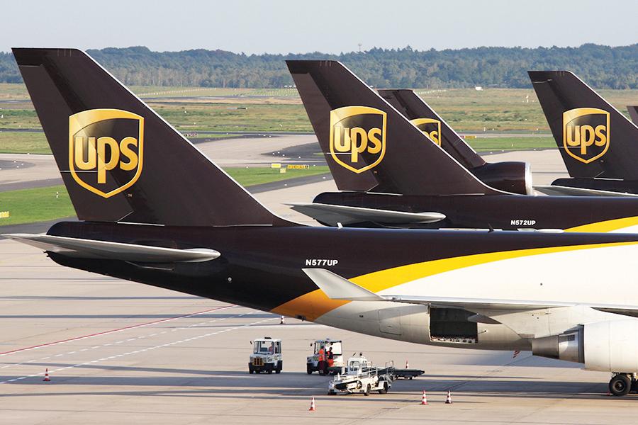 UPS lidera envíos internacionales