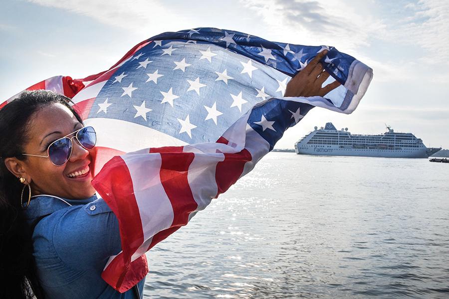 La Habana recibe el primer crucero después de 50 años