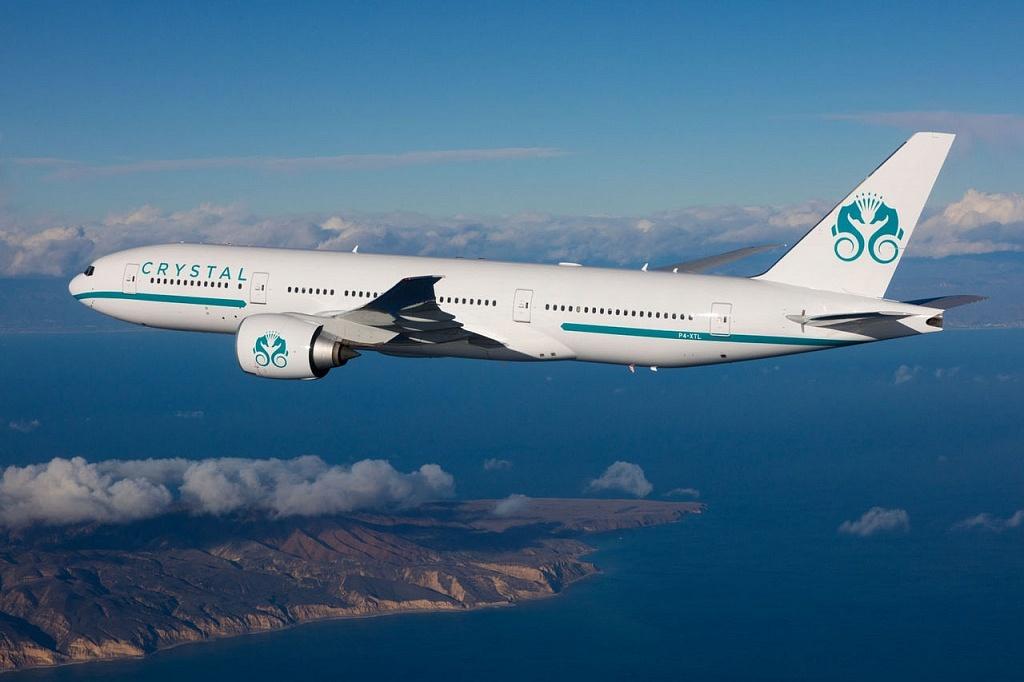 Boeing 777 crystal