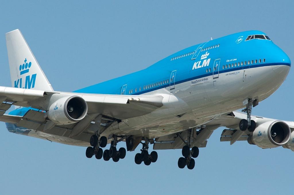 KLM 747-400 City of Lima PH-BFL