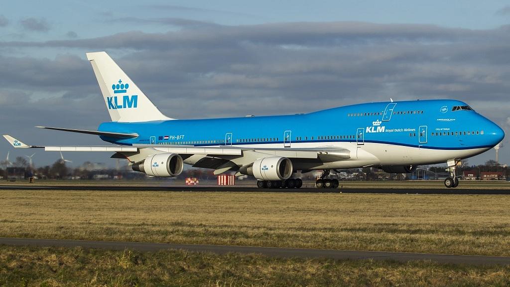 KLM BOEIING
