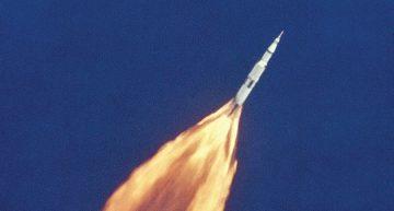 Lanzamiento del Apollo 11