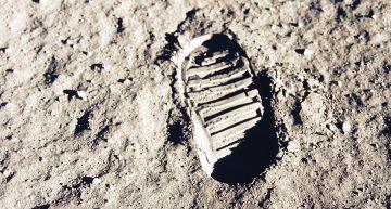 Primer paso en la luna