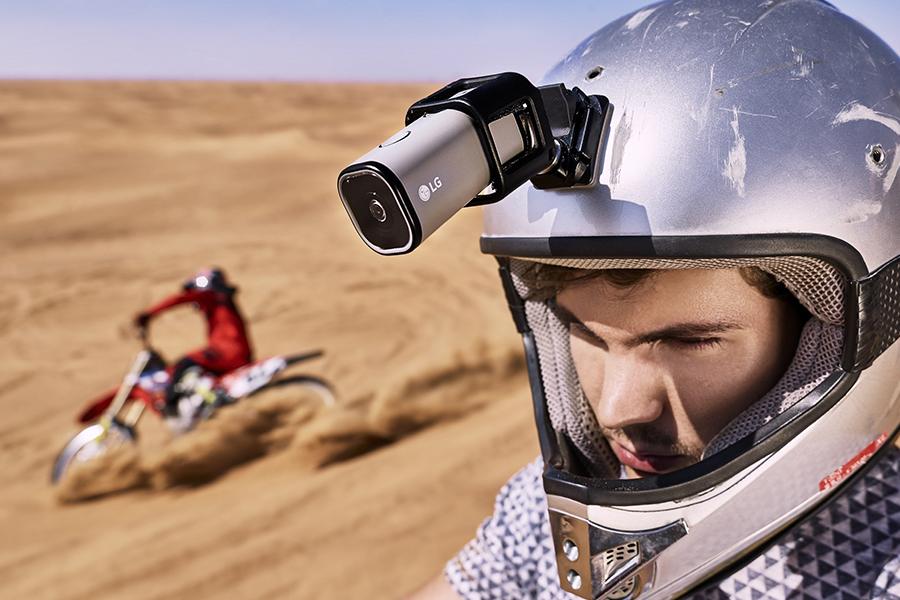 Nueva cámara de acción LG