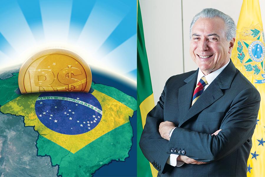 Michel Temer promete estabilidad económica para Brasil