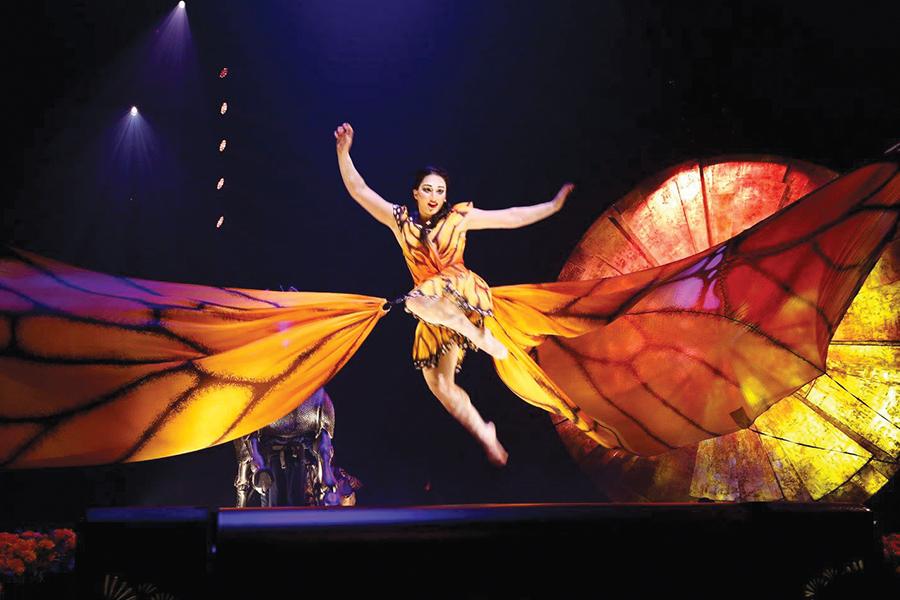 Cirque du Soleil presenta espectáculo Luzia
