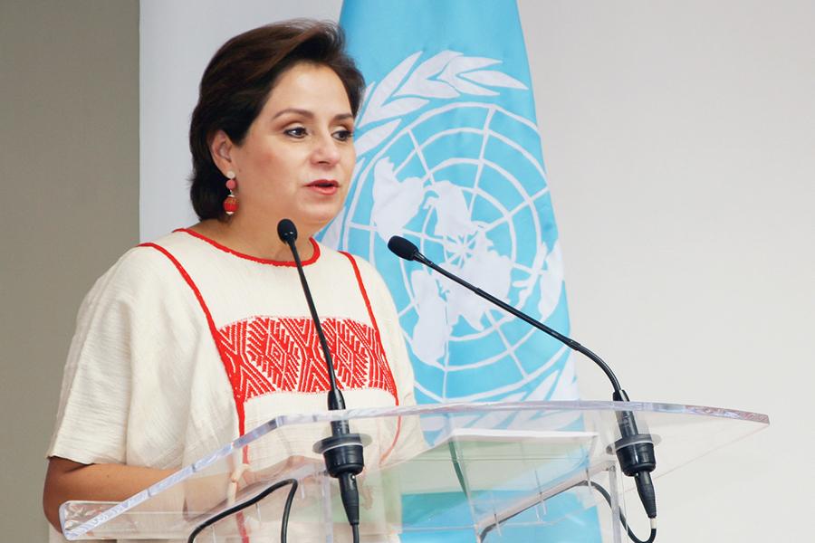 Patricia Espinosa secretaria en la ONU