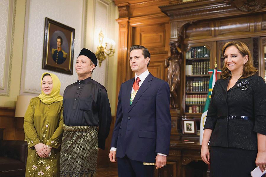 Nuevos embajadores en México