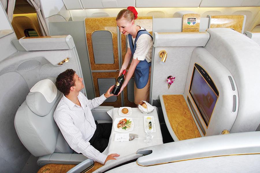 Las mejores aerolíneas y su servicio de Primera Clase