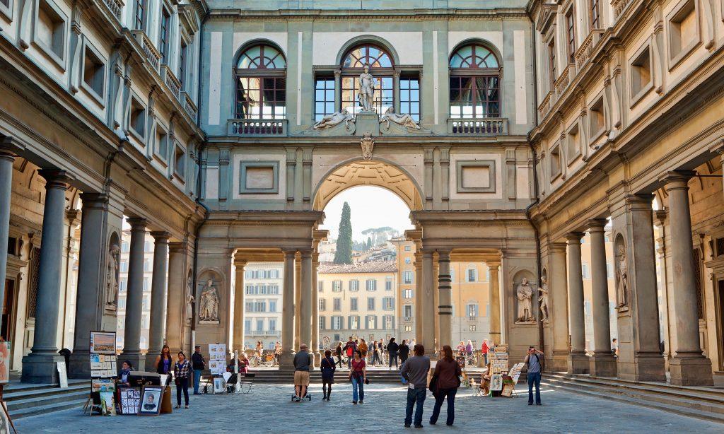 Uffizi-Art-Gallery