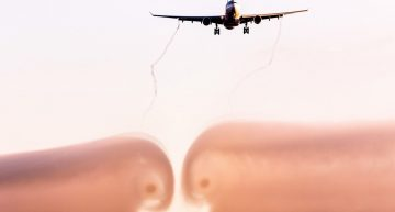 Sonidos extraños en los aviones