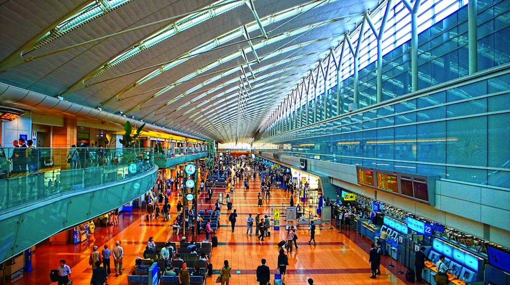 TOKYO HANEDA INTERNATIONAL AIRPORT 3
