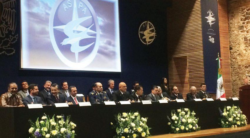 Mario Alberto González Aguilera encabezó la asamblea y aniversario de ASPA.
