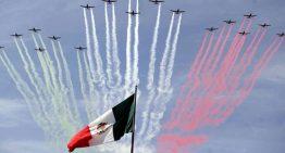 FUERZA AÉREA MEXICANA EN EL DESFILE DEL 16 DE SEPTIEMBRE