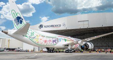Quetzalcóatl llega a Aeroméxico