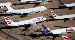 ¿A dónde se van las viejas aeronaves?