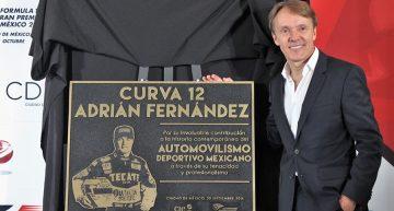 Adrián Fernández y Fittipaldi, embajadores del GP de México