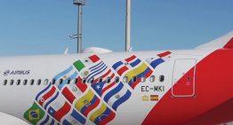 Iberia presenta vuelo conmemorativo