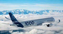 El primer A350-1000 completo su primer vuelo con éxito