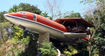 Aviones donde puedes hospedarte