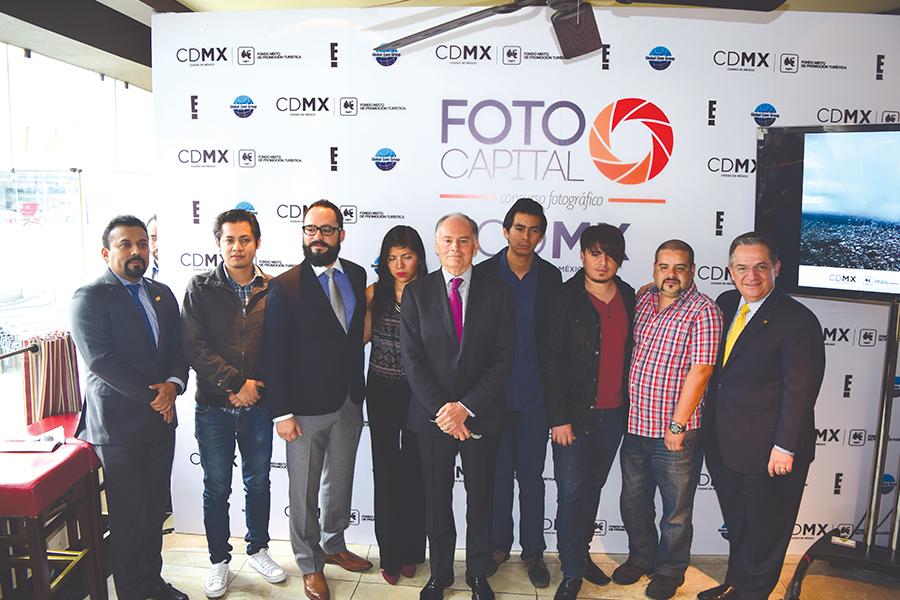 Ceremonia de premiación Foto Capital