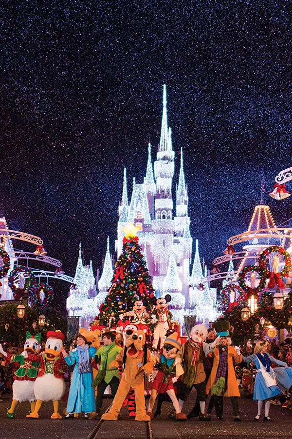 Diversión navideña en Orlando