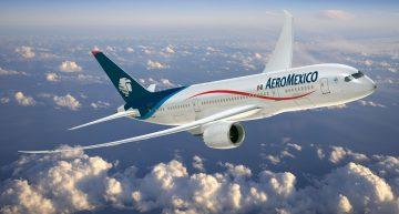 Aeromexico abre tres nuevas rutas