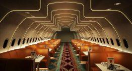 Hawai Adda el restaurante dentro de un A320