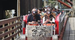 Six Flags presenta la primer roller coaster con realidad virtual