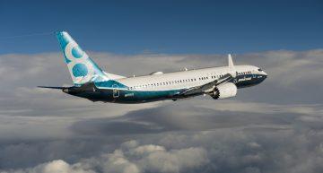 El Boeing B737-8 MAX escribió su nombre en el cielo