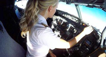 La piloto de un B737 es la más seguida en redes sociales
