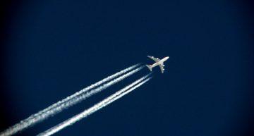 La ONU incluye las estelas de los aviones como nubes