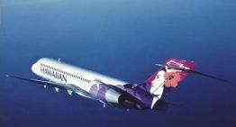 Una manta causa un desvío de un vuelo a Hawai